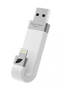 Leef iBridge iPhone Speicher Stick weiss