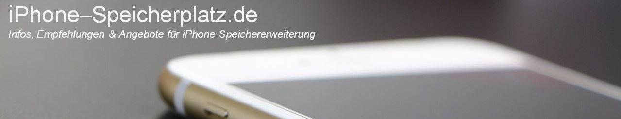 iPhone Speicherplatz