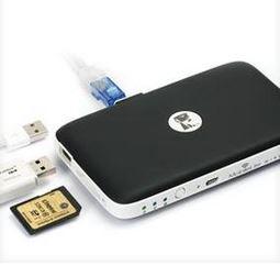 MobileLite WLAN Kartenleser mit diversen Anschlüssen
